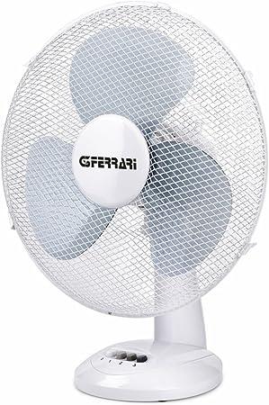 G3Ferrari Maestro Ventilatore da Tavolo Acciaio