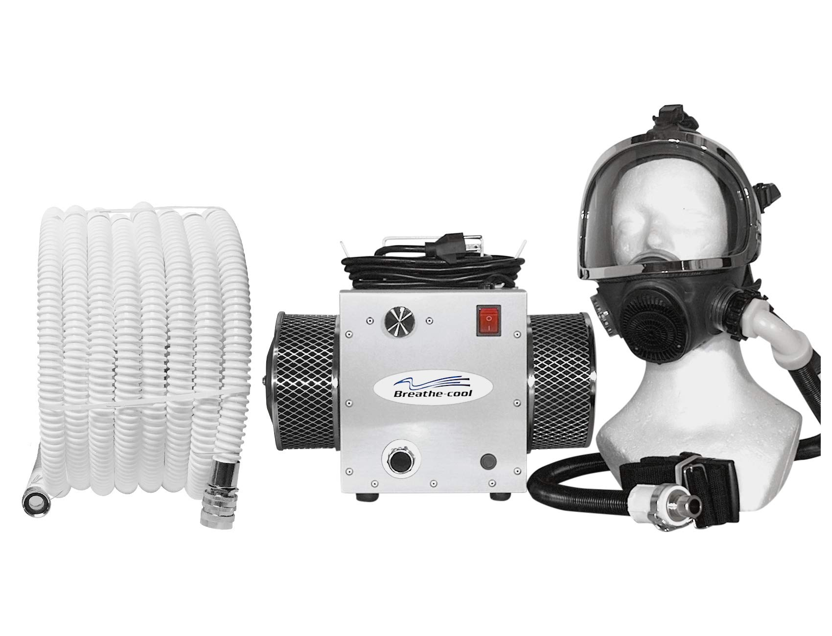 Breathecool II Supplied Air Respirator System w/fullface mask