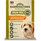 Harringtons Wet Chicken and Potato Dog Food, 7 x 150 g