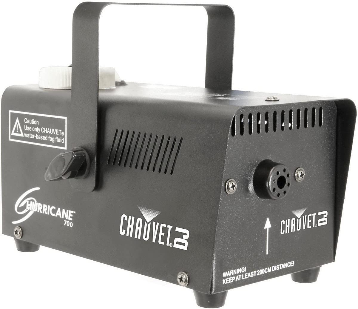 Chauvet Lighting DJ 700 Hurricane Fog Machine, Black (H700) Premium