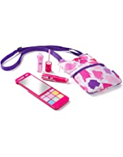 Girls Makeup Palette with Mirror - Super Chic iPhone Compact and Phone Purse Set … (with Phone Purse) … (myPhone Makeup Compact with Purse)