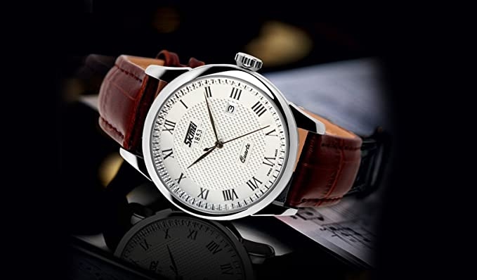 Amazon.com: Relojes de Hombre Sports Luxury Watches Business Casual Quartz De Hombre Para Caballero RE0018: Everything Else
