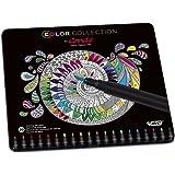 BiC Conte Limited Edition Colouring Pen - Multi-Coloured, Tin of 20