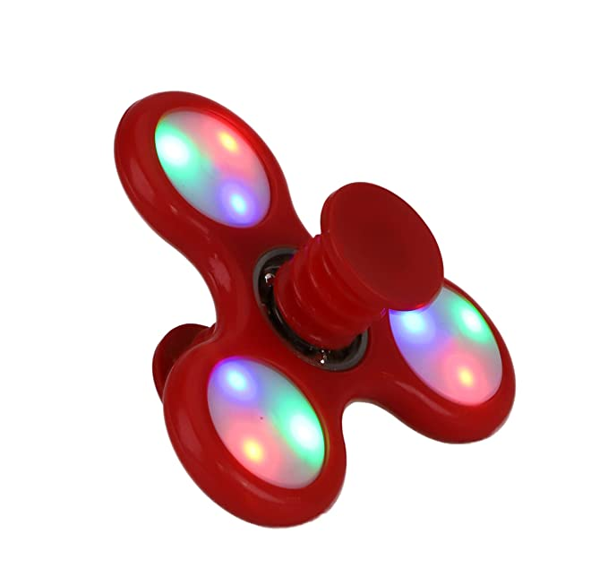 Fidget Spinner 5 in 1 Bounce 1 zuf/ällig Spin Jump Toyland Spinnerooz Light Up Hand Spinner Neuheit Spielzeug