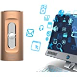 iPhone USB Flash Drive 64 GB, GUORUI IOS USB Flash drive 3.0 Jump Thumb Pen Drive Lightning Memory Stick for Apple IOS Android Computers