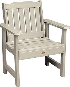 Highwood AD-CHGL1-WAE Lehigh Garden Chair, Whitewash