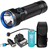 OLIGHT R50 Pro Seeker 3200 Lumens CREE XHP70 Rechargeable LED Flashlight with LumenTac Adapter