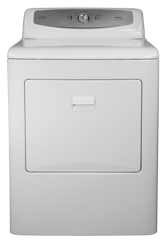 Amazon.com: Haier RDE350AW 6-1/2 Cubic Foot Electric Dryer, White:  Appliances