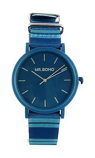Reloj Mujer MR.BOHO Color Azul.00728450