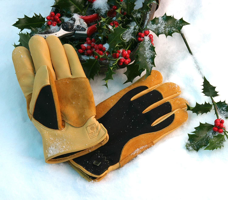 Jayco (UK) Ltd Gants de jardinage Winter Touch Gold Leaf pour dames 25304100