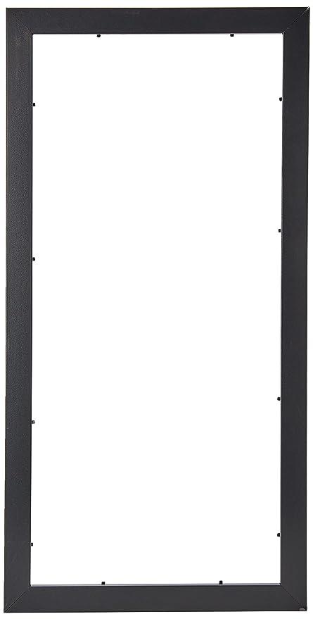 Amazoncom Arttoframes 12x26 Inch Satin Black Picture Frame