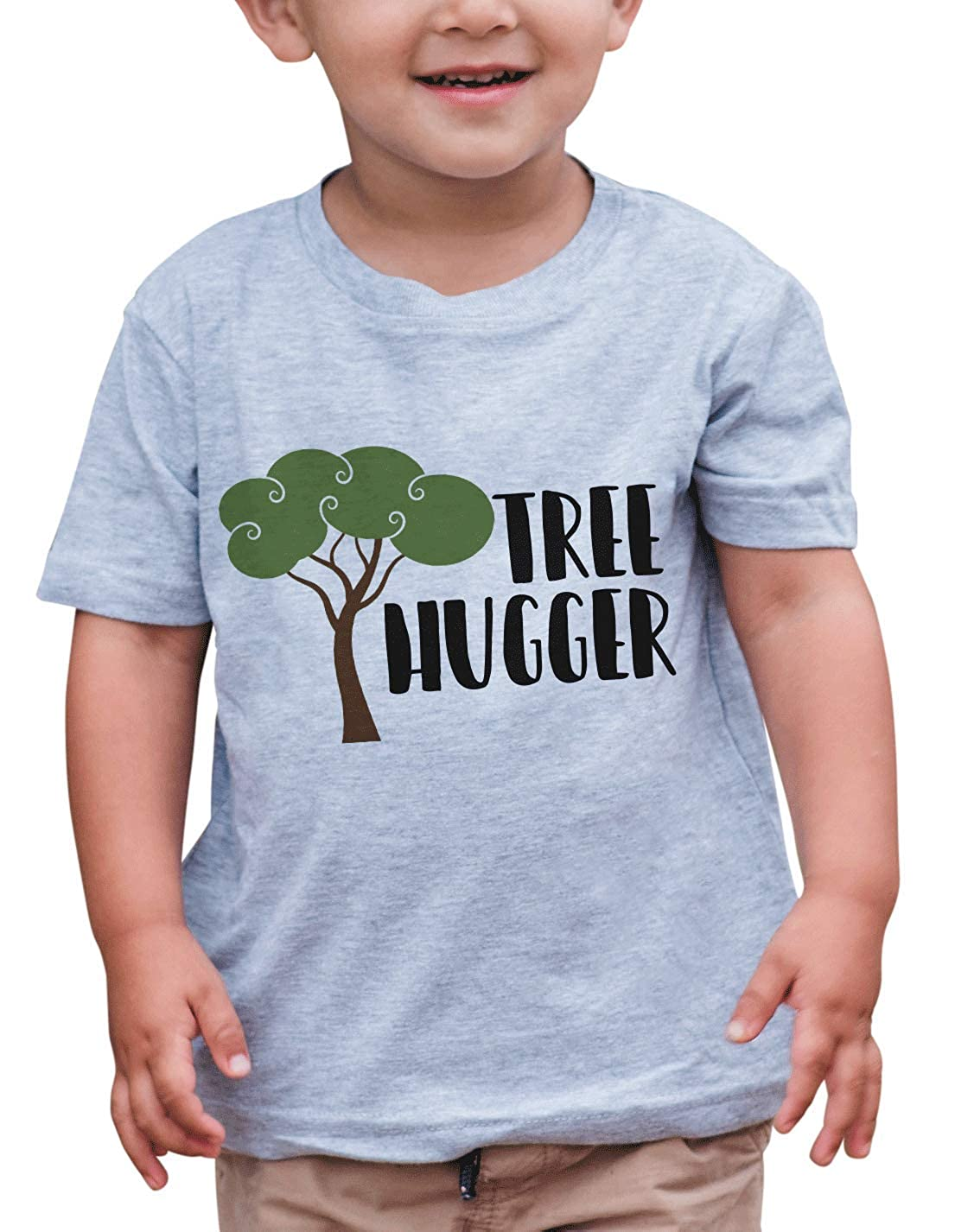 7 ate 9 Apparel Kids Tree Hugger Outdoors T-Shirt