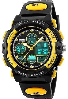 Kids Digital Sport Watch, Boys Girls Waterproof Sports Outdoor Watches Children Casual Electronic Analog Quartz
