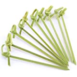JapanBargain 1596x2-J-L - 100 Piece Bamboo Skewers Twisted ends 4 inch