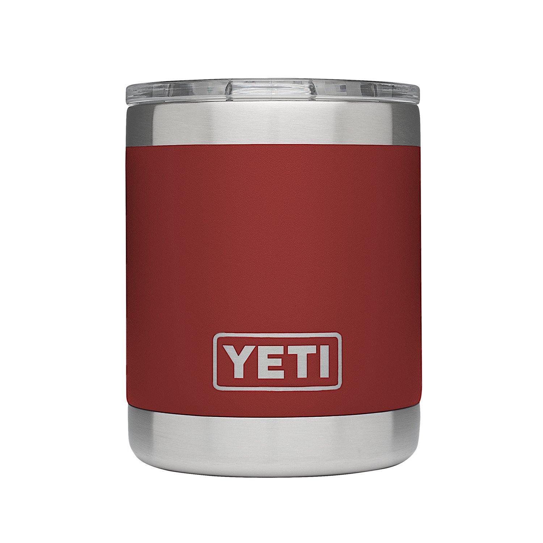 YETI Rambler 10oz Vacuum Insulated Stainless Steel Lowball Lid