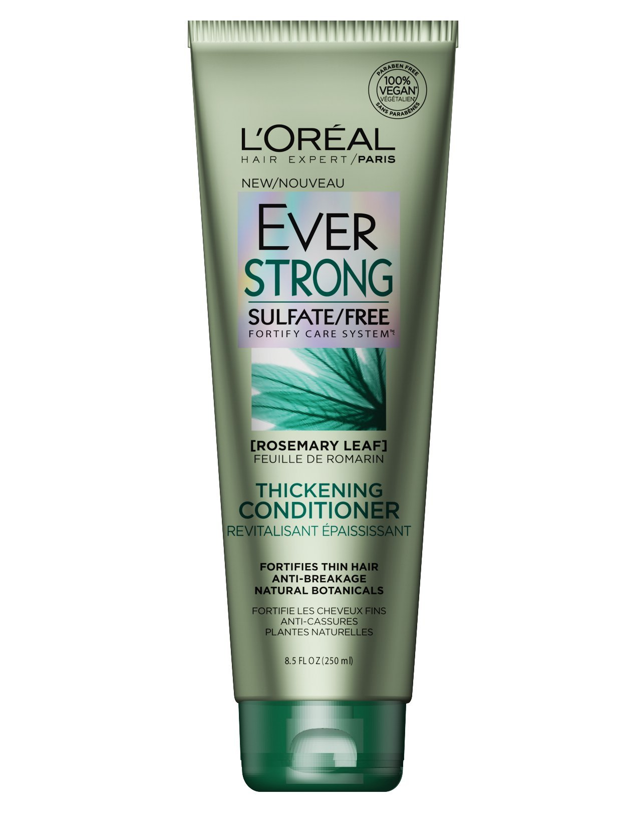 L'Oréal Paris EverStrong Sulfate Free Thickening Conditioner, 8.5 fl. oz.