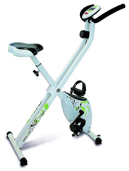 Tecnovita by BH Open&go - Bicicleta estática plegable (Reacondicionado Certificado)