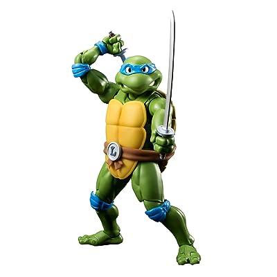 "Bandai Tamashii Nations S.H. Figuarts Leonardo ""Teenage Mutant Ninja Turtles"" Action Figure: Toys & Games"