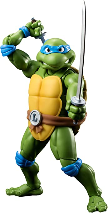 Amazon.com: Bandai Tamashii Nations S.H. Figuarts Leonardo ...