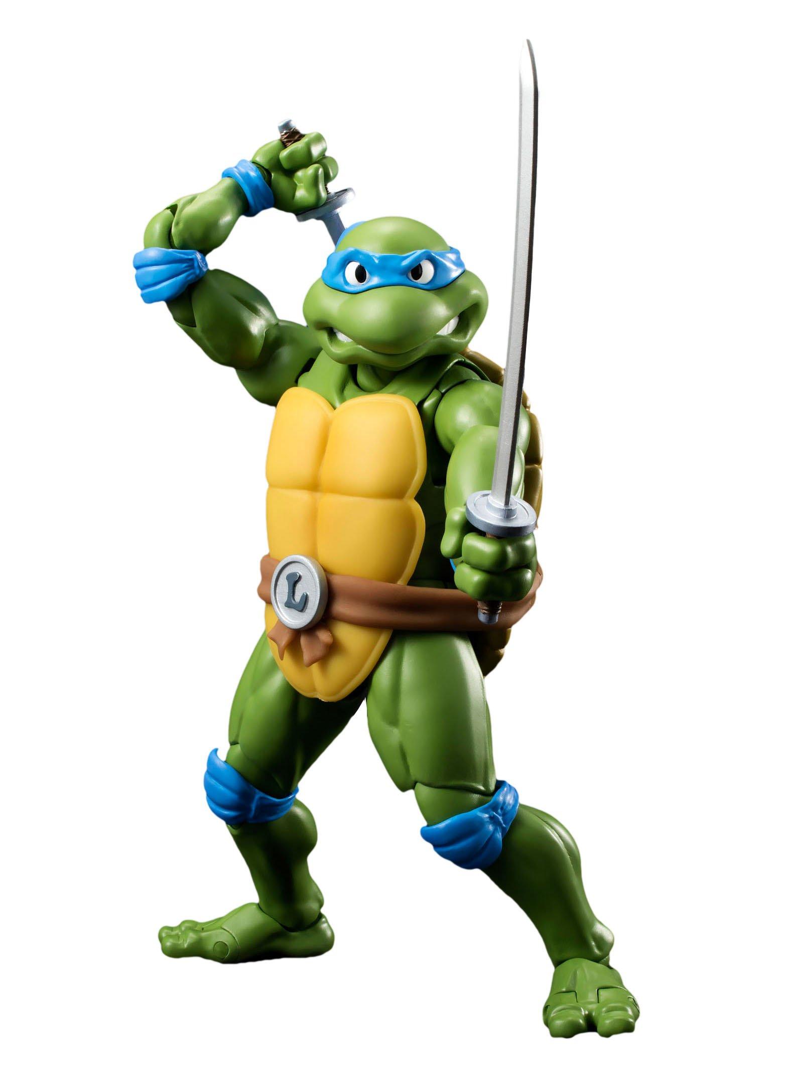 Bandai Tamashii Nations S.H. Figuarts Leonardo ''Teenage Mutant Ninja Turtles'' Action Figure