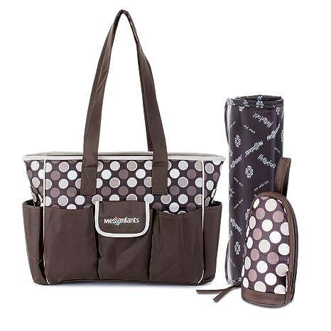 lidch pañal bolsa para el cuidado del bebé, multifuncional bolsa de pañales bolso cambiador con