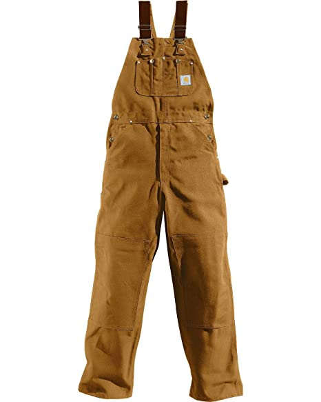 great look free shipping buy cheap Carhartt Men's Big & Tall Duck Bib Overalls Unlined R01