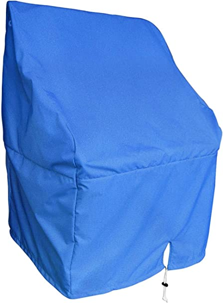 """Navy Blue Waterproof Boat Center Console Cover Medium 44/""""H*40/""""W*30/""""D"""
