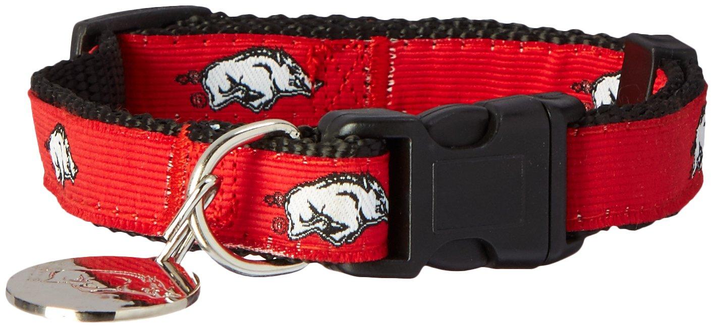 Premium Adjustable Dog Collar Sporty K9 NCAA Dog Collar 2 in 24 School Teams Collegiate Dog Collar College PET Collar Football//Basketball Collar for Dogs /& Cats - Durable Sports PET Collar