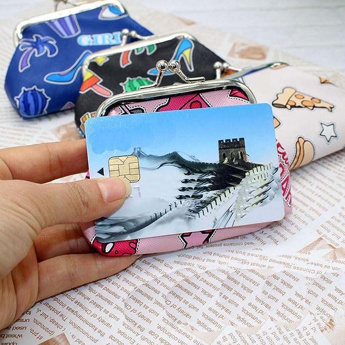 Amazon.com: Bolso de mano bonito impreso Snacks tarjeta ...