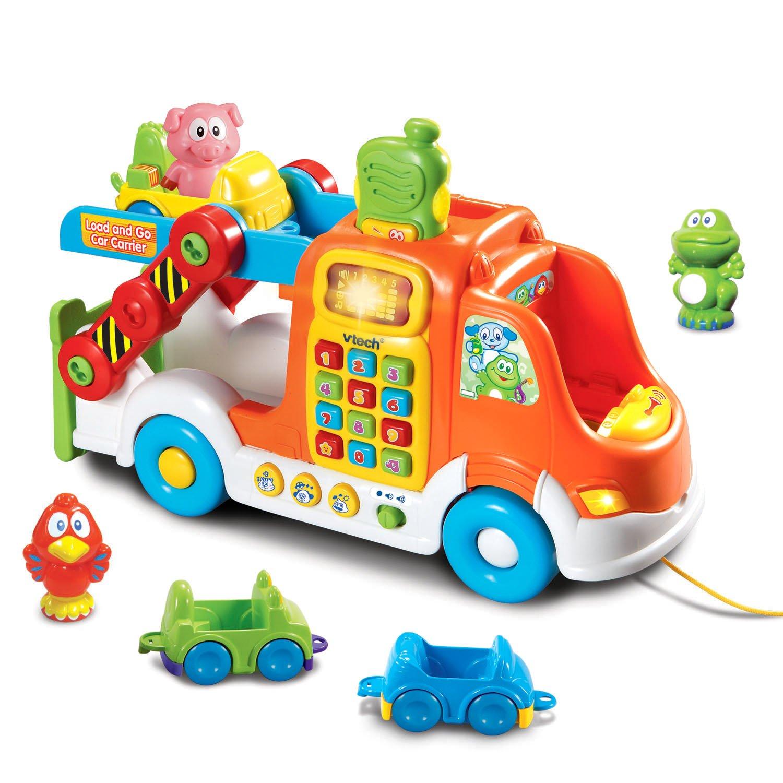 VTech Pull & Learn Car Carrier (Frustration Free Packaging) VTech--Import 80-049709
