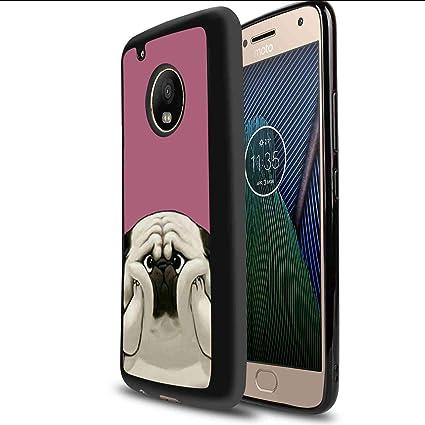 Amazon.com: Carcasa de TPU para Moto G5 Plus #g8t