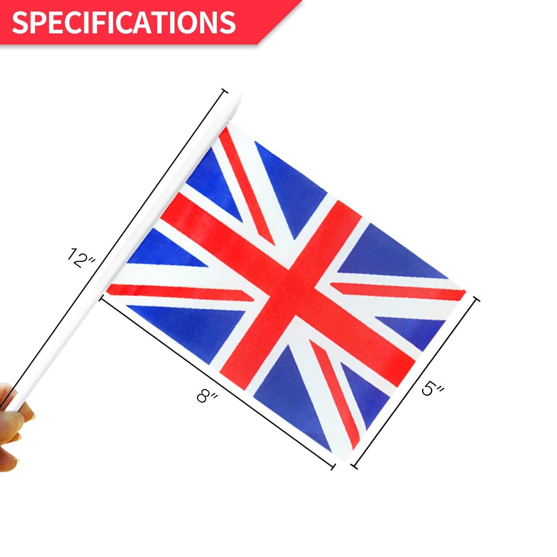da9db305f1fd Amazon.com   Anley British Union Jack Stick Flag