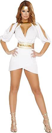 Amazon.com: Sexy 2pc Diosa griega Afrodita Traje de la mujer ...