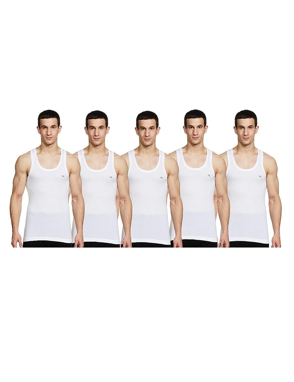 Lux Cozi Men's Cotton Vest (Pack of 5)