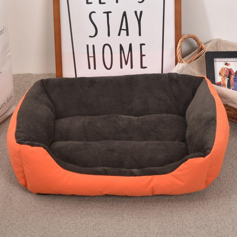 A Daeou Pet mat Plush Warm Oxford Cloth Kennel cat Nest Pet Litter Dog mat 30  40cm