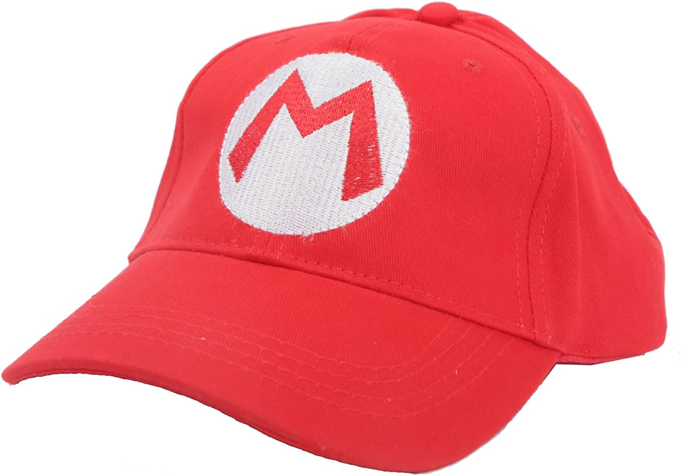 2PCS Super Mario Bros Luigi ADULT Hat Cap Costume cosplay Halloween hat baseball cap