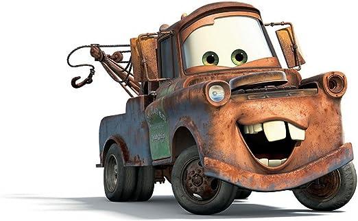 Amazon.com: Mater Cars Camión grúa Comestible Decoración ...