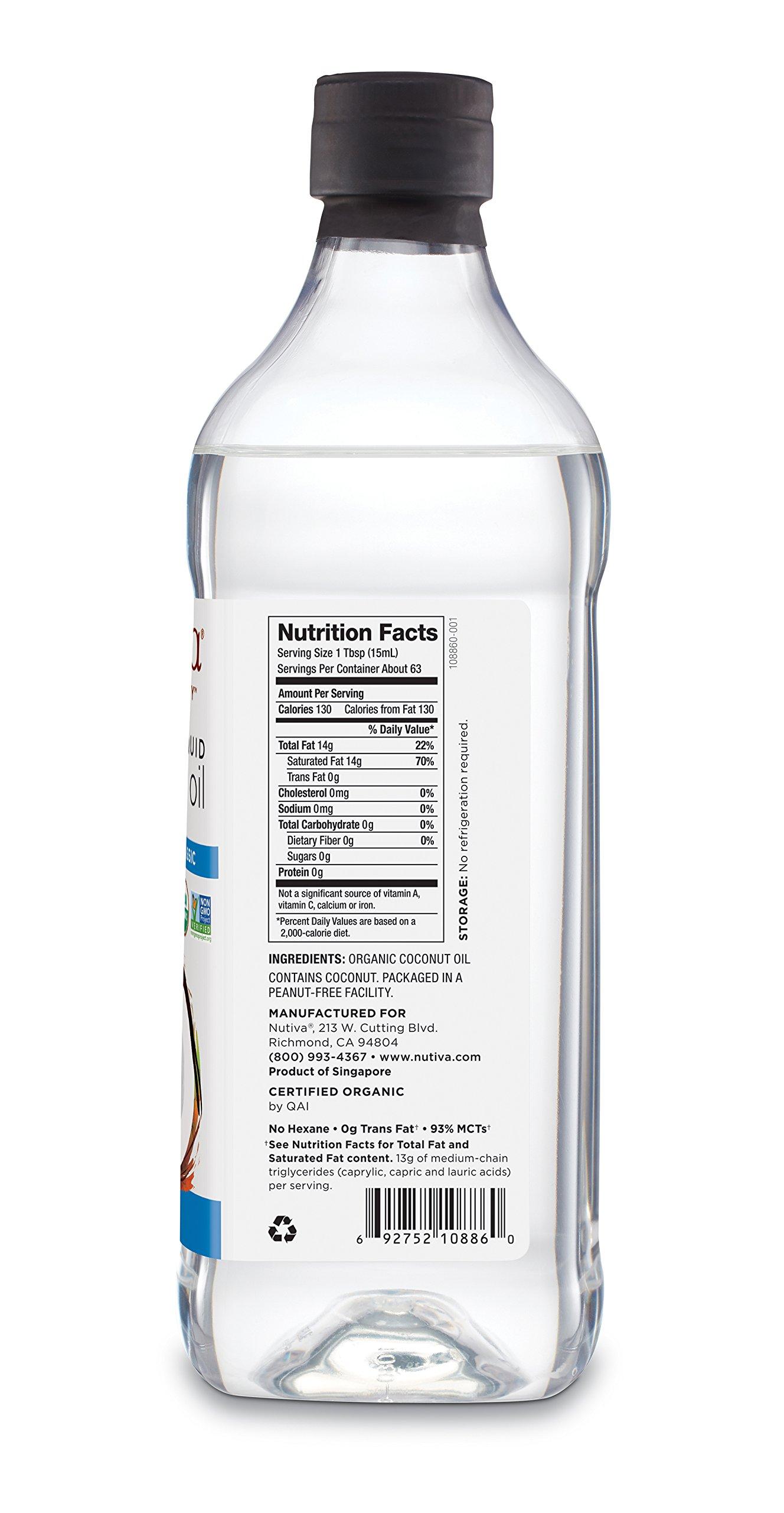 Nutiva Organic, Unrefined, Liquid Coconut Oil from Fresh, non-GMO, Sustainably Farmed Coconuts, 32-ounce by Nutiva (Image #11)
