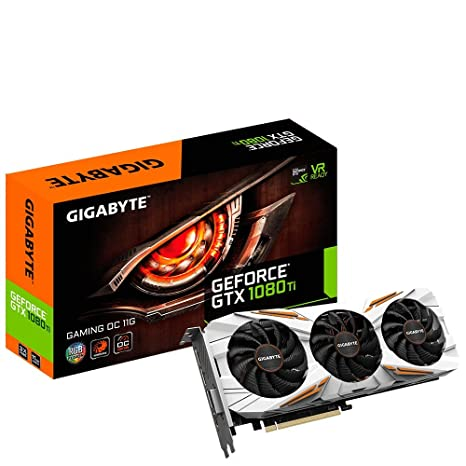Gigabyte GV-N108T Gaming OC-11GD - Tarjeta gráfica, Color Negro
