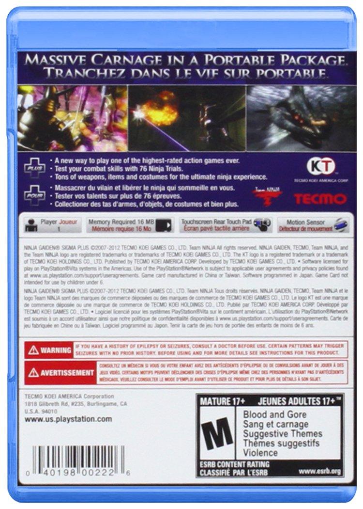 Ninja Gaiden Sigma Plus (Importado): Amazon.es: Videojuegos