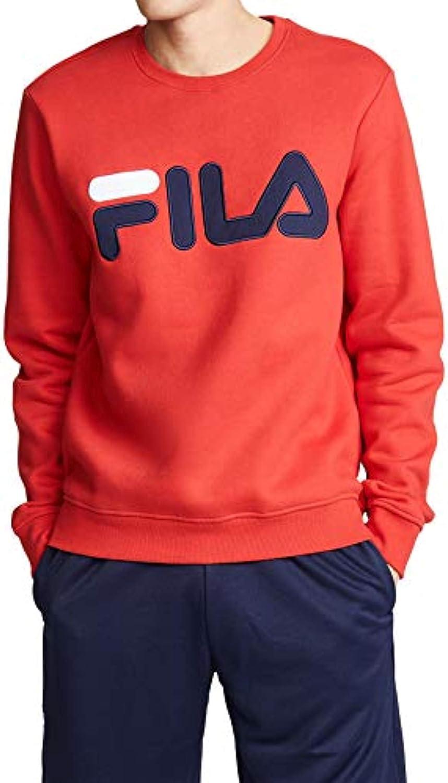 Fila Mens Regola Sweatshirt /& Cooling Towel Bundle