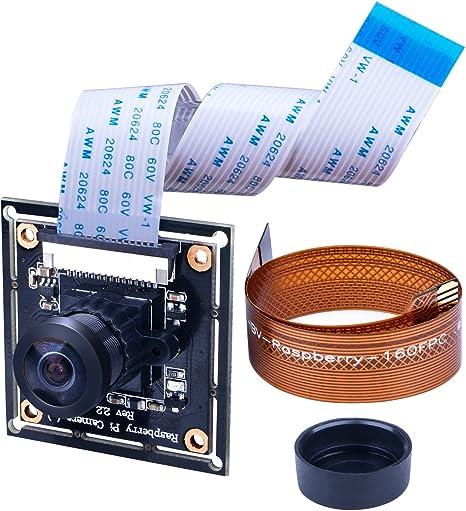 Camera Module Board 5MP 160° Wide Angle Fish Eye Lenses For Raspberry Pi B