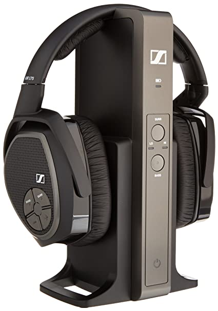 a19cbabddb8 Amazon.com: Sennheiser RS 175 RF Wireless Headphone System: Home Audio &  Theater