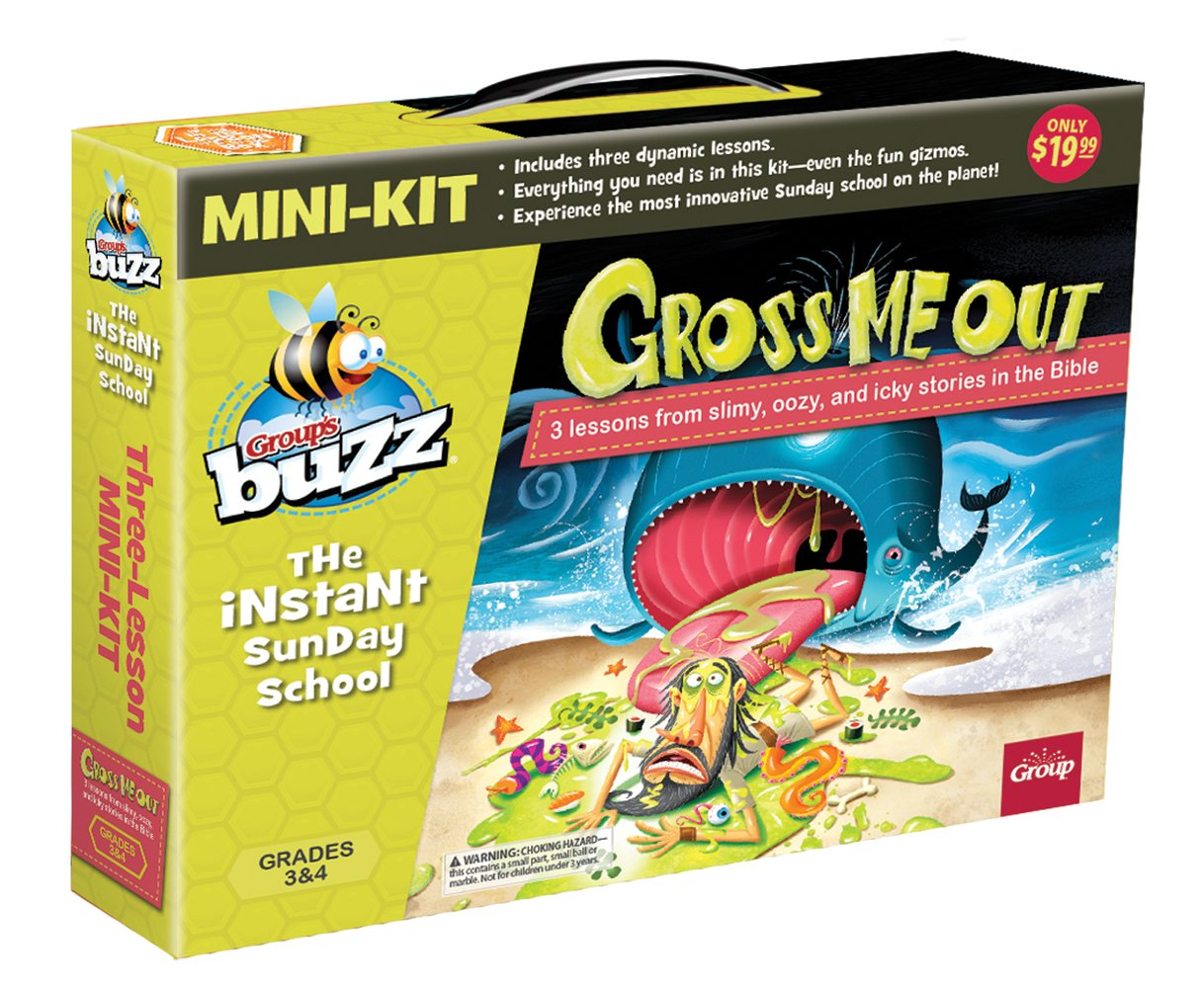 Read Online Buzz Mini-Kit: Gross Me Out: 3 Lessons from Oozy, Slimy, and Icky Stories in the Bible ebook