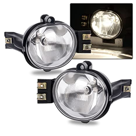 amazon com fit for 02 08 dodge ram 1500 03 09 dodge ram 2500 ramamazon com fit for 02 08 dodge ram 1500 03 09 dodge ram 2500 ram 3500 04 06 dodge durango oe clear fog lights pair bulb driver and passenger side driving
