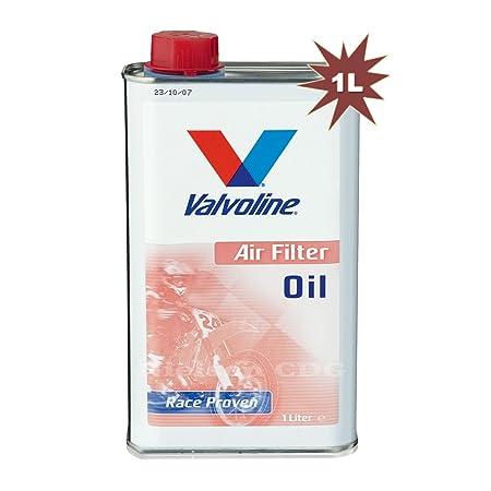 Valvoline – Filtro de aire de aceite de moto Race proven – 1L ...