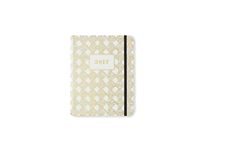 kate spade new york Conceal Sprial 2016-17 Medium Agenda, Caning