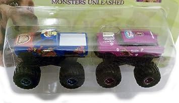 Amazon scooby doo 2 monsters unleashed monster truck 2 car set scooby doo 2 monsters unleashed monster truck 2 car set blue purple 1 altavistaventures Gallery