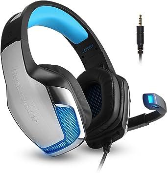 Cascos Auriculares Gaming Gamer PS4 Xbox One PC con Micrófono ...