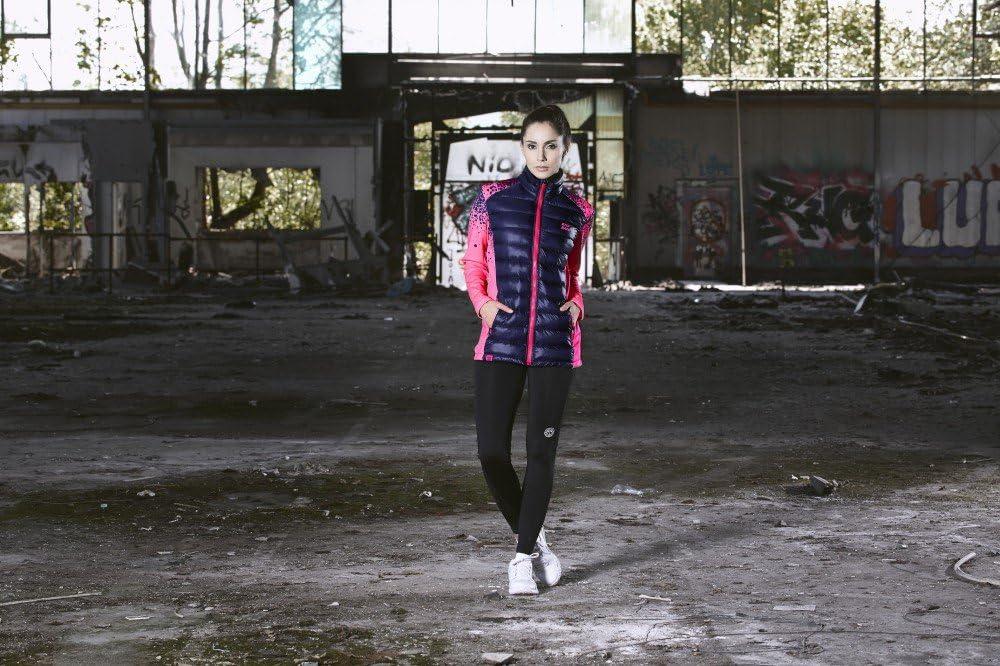 HW17 Fara Tech Jacket pink//darkblue